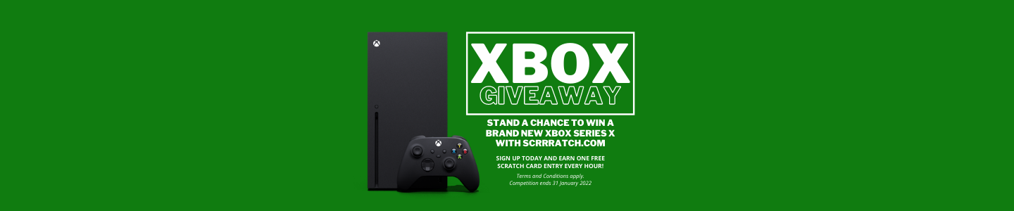 Win the latest Microsoft, series X game console.